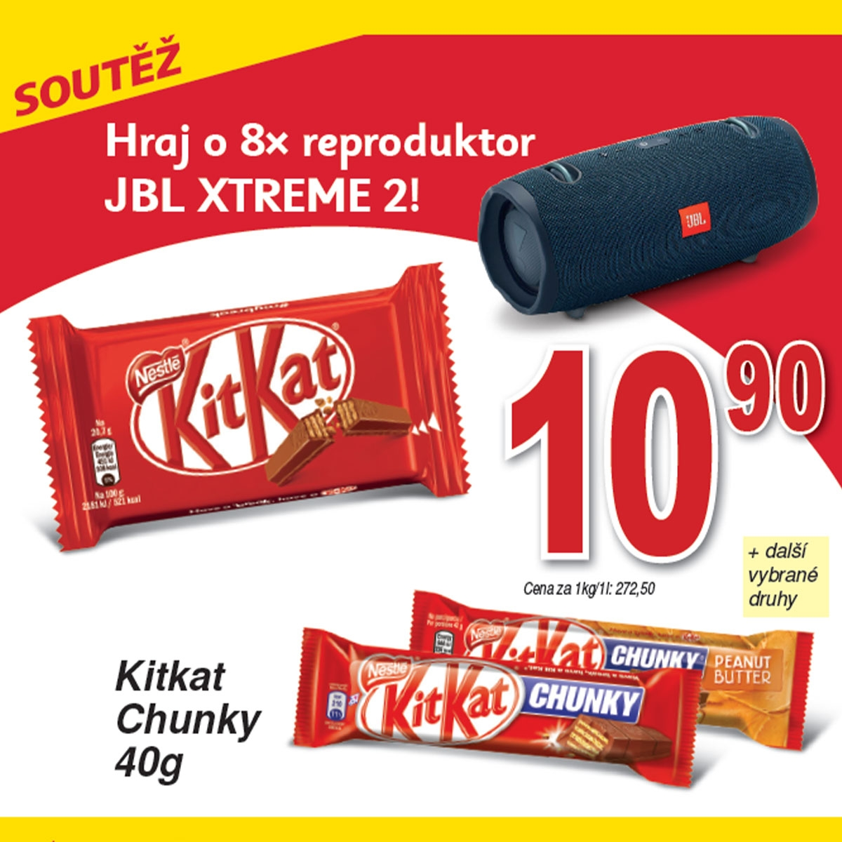 Soutěž s Kitkat