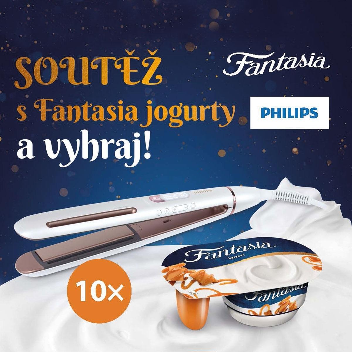 Soutěž s jogurty Fantasia