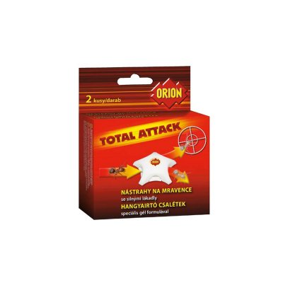 Orion Total Attack nástrahy na mravence 2 ks