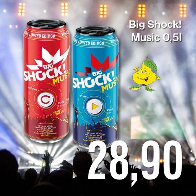 Big Shock! Music 0,5 l