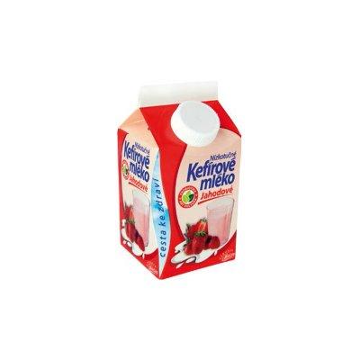 Kefírové mléko jahodové 450 g