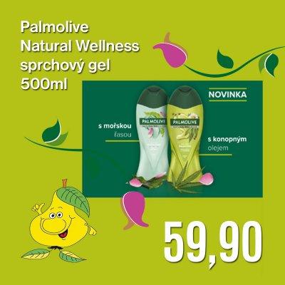 Palmolive Natural Wellness sprchový gel 500 ml