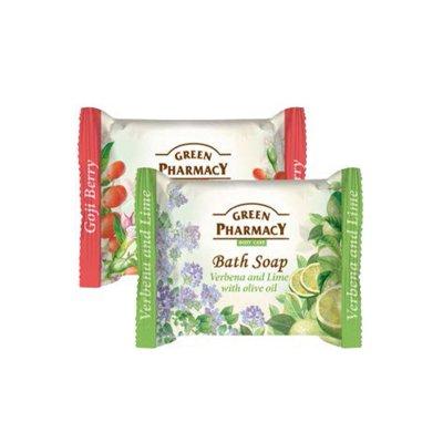 Green Pharmacy toaletní mýdlo Verbena & Lime 100 g