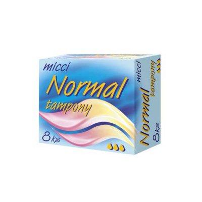 Micci tampony Normal 8 ks