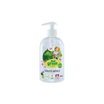 Real Green Clean tekuté mýdlo s pumpičkou 500 g