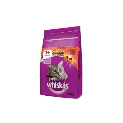 Whiskas granule s hovězím masem 300 g