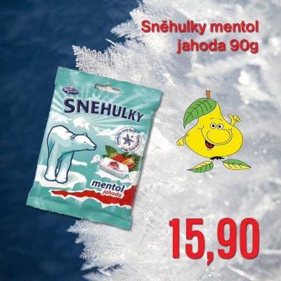 Sněhulky mentol jahoda 90 g