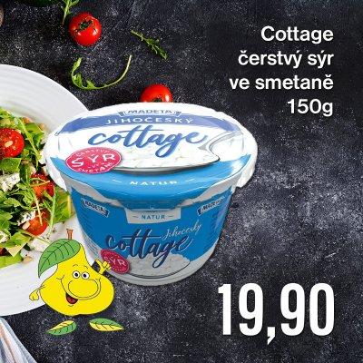 Cottage čerstvý sýr ve smetaně 150 g
