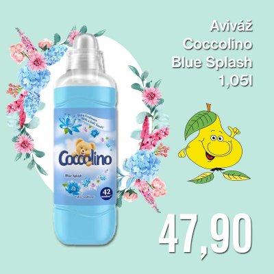 Aviváž Coccolino Blue Splash 1,05 l