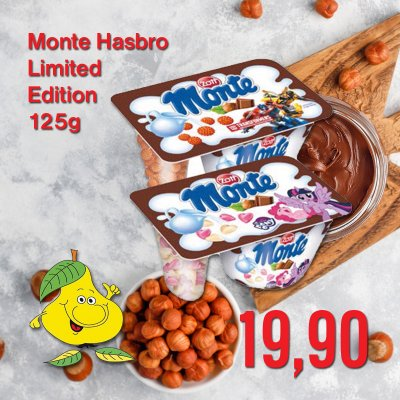 Monte Hasbro Limited Edition 125 g