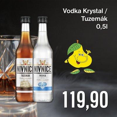 Vodka Krystal / Tuzemák 0,5 l