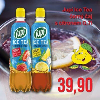 Jupí Ice Tea černý čaj s citronem 0,7 l