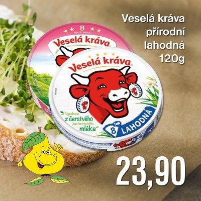 Veselá kráva přírodní lahodná 120 g
