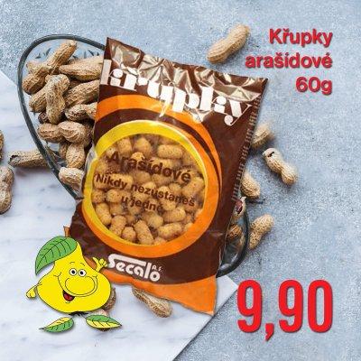 Křupky arašídové 60 g