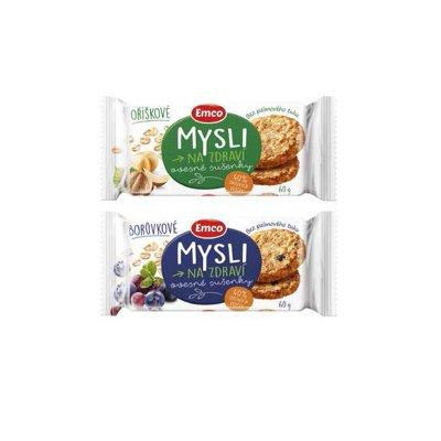 Mysli sušenky oříškové 60 g