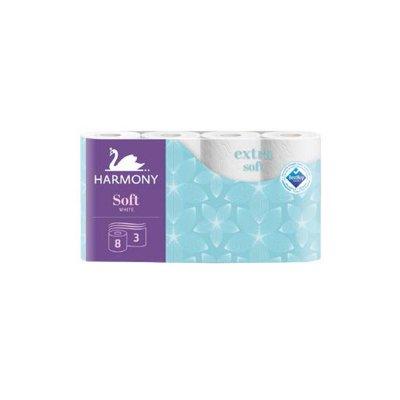 Toaletní papír Harmony Soft 8 ks