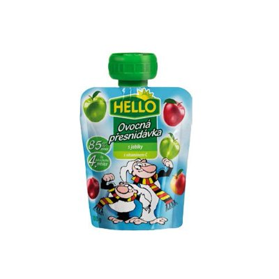 Hello ovocná přesnídávka s jablky 100 g