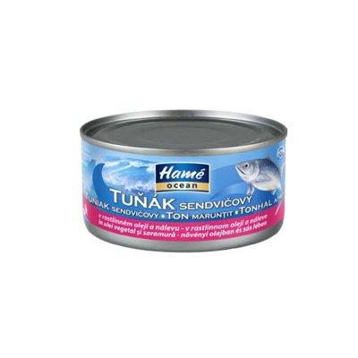 Tuňák v rostlinném oleji sendvičový 185 g