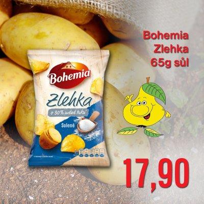 Bohemia Zlehka 65 g sůl