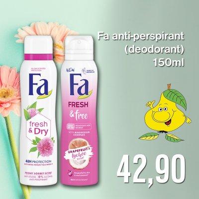 Fa anti-perspirant (deodorant) 150 ml