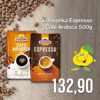 Jihlavanka Espresso / Café Arabica 500 g
