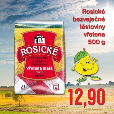 Rosické bezvaječné těstoviny vřetena 500 g