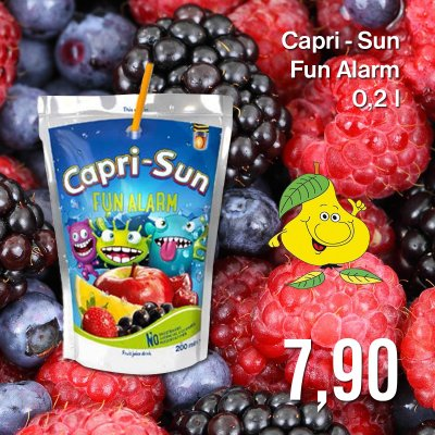 Capri-Sun Fun Alarm 0,2 l