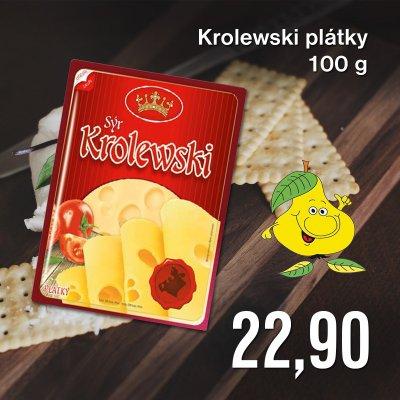 Krolewski plátky 100 g