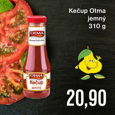 Kečup Otma jemný 310 g