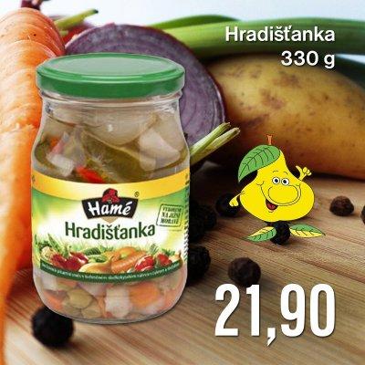 Hradišťanka 330 g