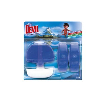 DrDevil WC tekutý blok Polar Aqua 3 x 55 ml