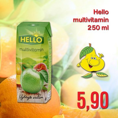 Hello multivitamin 250 ml