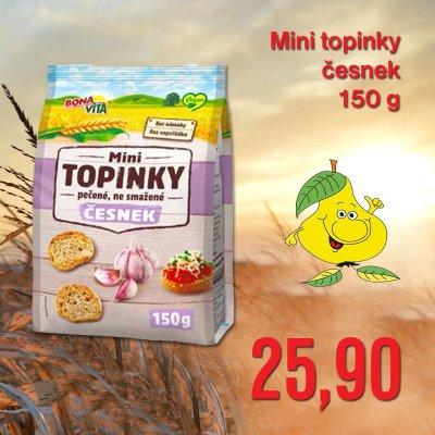 Mini topinky česnek 150 g