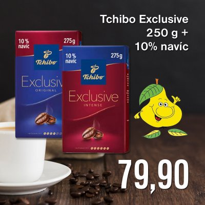 Tchibo Exclusive 250 g + 10% navíc