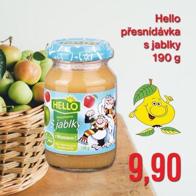 Hello přesnídávka s jablky 190 g