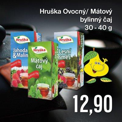Hruška Ovocný / Mátový bylinný čaj 30 - 40 g