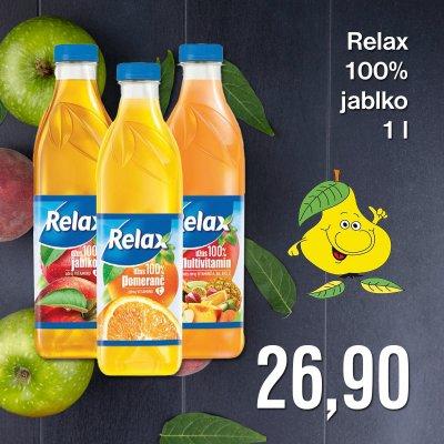 Relax 100% jablko 1 l