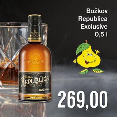 Božkov Republica Exclusive 0,5 l