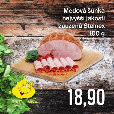 Medová šunka nejvyšší jakosti zauzená Steinex 100 g