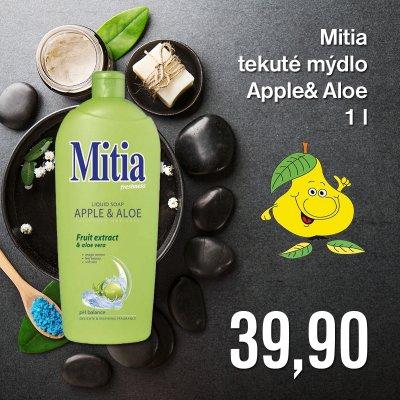 Mitia tekuté mýdlo Apple & Aloe 1 l