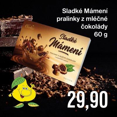 Sladké Mámení pralinky z mléčné čokolády 60 g