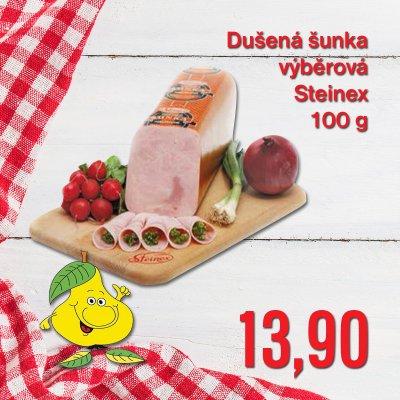 Dušená šunka výběrová Steinex 100 g