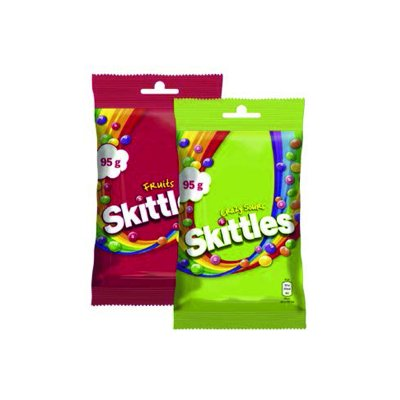 Skittles Fruits-Crazy sours 95 g
