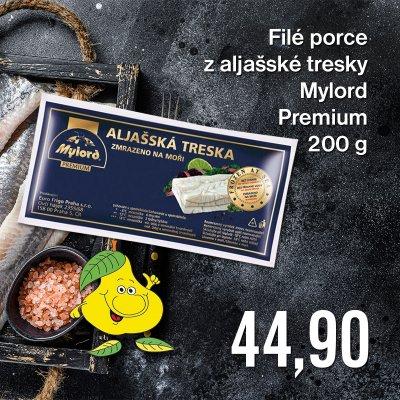Filé porce z aljašské tresky Mylord Premium 200 g