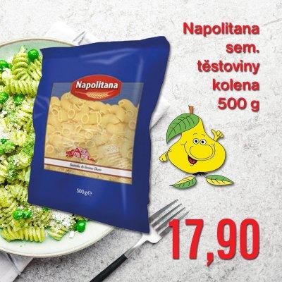 Napolitana sem. těstoviny kolena 500 g