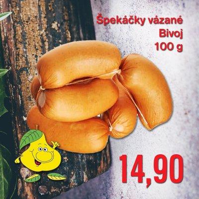 Špekáčky vázané Bivoj 100 g