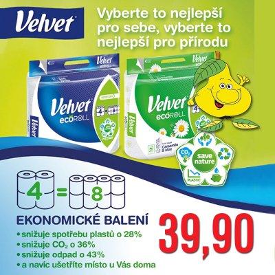 Toaletní papír Velvet
