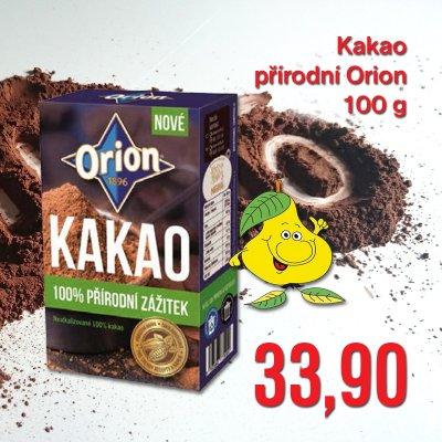 Kakao přírodní Orion 100 g