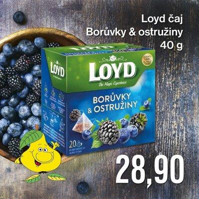 Loyd čaj Borůvky & ostružiny 40 g