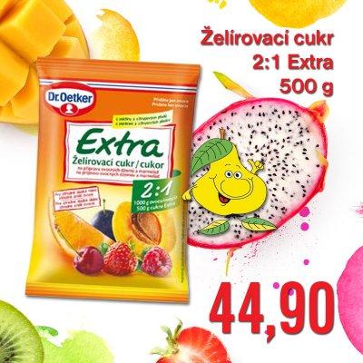 Želírovací cukr 2:1 Extra 500 g